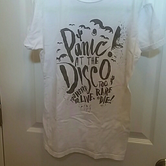 88b9b4a8 Hot Topic Tops | Panic At The Disco Twtltrtd Shirt | Poshmark